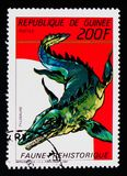 Tylosaurus, доисторическое serie животных, около 1987 Стоковая Фотография