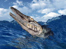Tylosaurus Royalty Free Stock Photography
