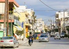 Tympaki in Kreta Stockbild