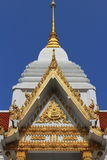 Tympanum. With thai architecture and paint royalty free stock image