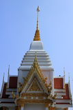 Tympanum. With thai architecture and paint royalty free stock images