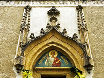 Tympany d'église de notre Madame Photos libres de droits