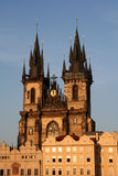 tyn 2 церков Стоковое Фото
