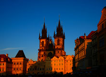 Tyn Cathedral Stock Photography