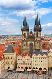 Tyn cathedral Royalty Free Stock Images