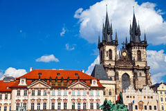 Tyn Church, Prague Royalty Free Stock Photo