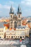Tyn Church. Prague. Royalty Free Stock Photography