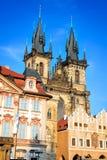 Tyn Church, Prague, Czech Republic Royalty Free Stock Photography