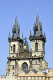 Tyn church of Prague - Czech Republic Royalty Free Stock Photos