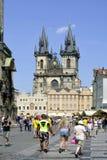 Tyn church of Prague - Czech Republic Royalty Free Stock Photography