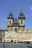Tyn church of Prague - Czech Republic Royalty Free Stock Images