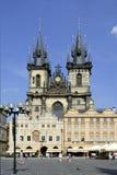 Tyn church of Prague - Czech Republic Royalty Free Stock Images