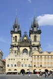 Tyn church of Prague - Czech Republic Stock Image
