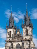 Tyn Church in Praque Stock Images