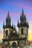 Tyn Kirche Lizenzfreies Stockbild