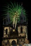 Tyn kyrka Royaltyfria Bilder
