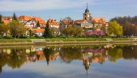 Tyn nad Vltavou, Czech Republic. Springtime in Tyn nad Vltavou, Czech Republic Stock Photos
