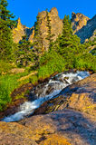 Tyndal Creek Cascade at Sunrise Stock Image