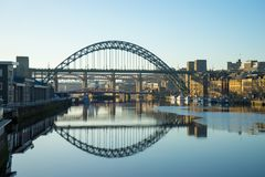 Tyne Bridge Stockbild