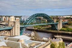 Tyne Bridge stockfotografie