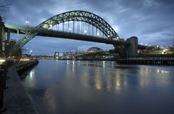 Tyne Bridge Morning Royalty Free Stock Photos