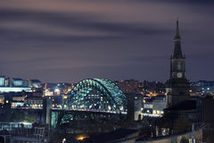 Tyne Bridge, Newcastle Stock Afbeelding