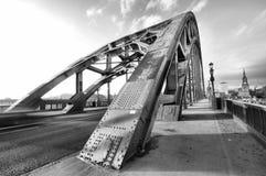 Tyne Bridge Wide Angle fotos de archivo