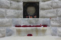 Tyne Cot Blockhouse, Ypres Salient Stock Images