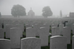 Tyne Cot Cemetary stock photography