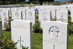 Tyne Cot Cemetery fotografia de stock royalty free
