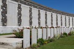 Tyne Cot Cemetery imagem de stock