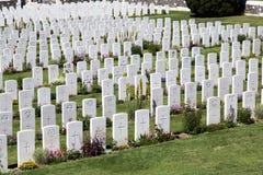 Tyne Cot Cemetery fotografia de stock