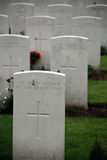 Tyne Cot cemetery Stock Photos