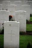 Tyne Cot cemetery Stock Photos