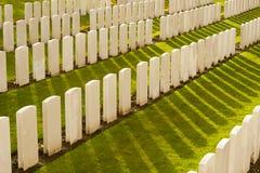 Tyne Cot Cemetery en la guerra mundial de Ypres Bélgica Flandes Imagenes de archivo