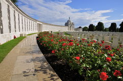 Tyne Cot Cemetery Royalty Free Stock Photography