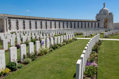 Tyne Cot Cemetery Stock Photography