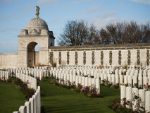 Tyne Cot Commonwealth Cemetery Royalty Free Stock Images