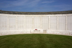 Tyne Cot  Memorial to the Missing Royalty Free Stock Image