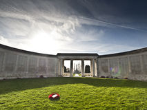 Tyne Cot Military Cemetery, Bélgica fotos de stock royalty free