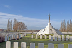 Tyne Cot: war cemetery Stock Image