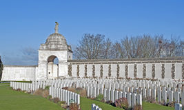 Tyne Cot: war cemetery Royalty Free Stock Photography