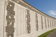 Tyne Cot: war cemetery Royalty Free Stock Image