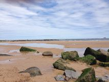 tyne mouth beach Stock Images