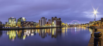 Tyne Sage Panorama 2 Royalty Free Stock Image