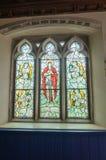 Tyneham教会 库存图片