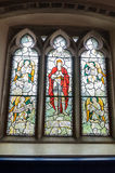 Tyneham教会 图库摄影