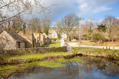 Tyneham Dorset Inghilterra immagini stock libere da diritti