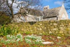 Tyneham Dorset Inghilterra fotografie stock