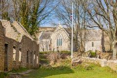 Tyneham Dorset Inglaterra imagenes de archivo